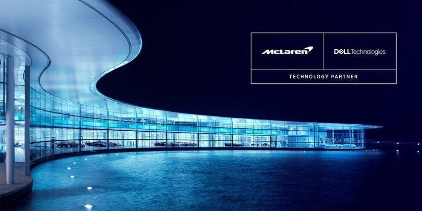 Logos Dell y McLaren