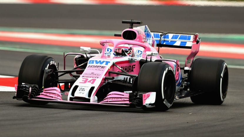 Force India VJM11 rodando