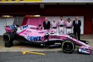 Force India presentación VJM11
