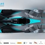 Vista aérea de la Segunda generación de coches Fórmula E