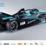 Trasera de la Segunda generación de coches Fórmula E