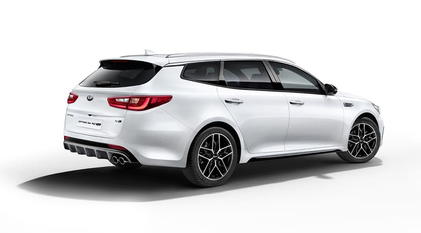Kia Optima restyling