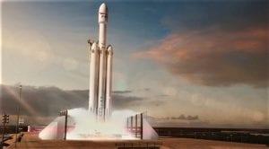 Vídeo en directo del lanzamiento del Tesla Roades en el Falcon Heavy de SpaceX