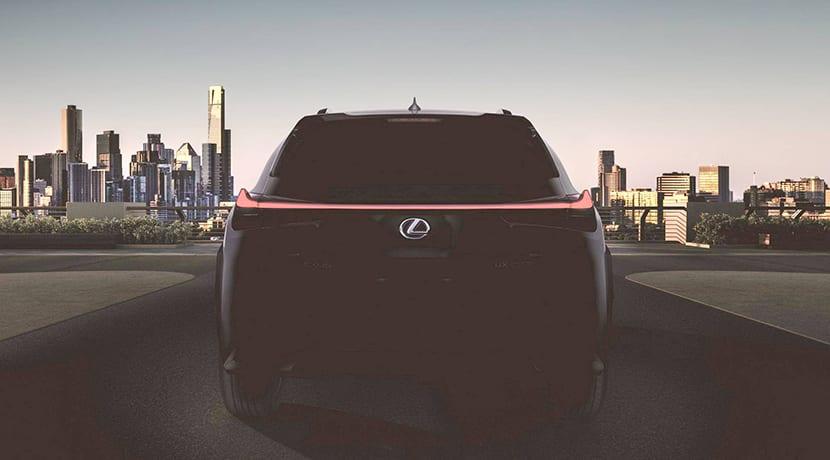 Teaser Lexus UX