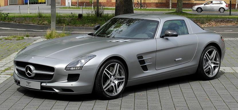 Mercedes-Benz C197 SLS AMG