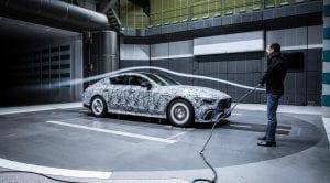 Teaser del Mercedes-AMG GT Coupé