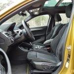 Prueba BMW X2 plazas delanteras