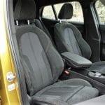 Prueba BMW X2 tapizados de los asientos