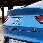 Prueba Hyundai i30 Fastback detalle portón