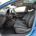 Prueba Hyundai i30 Fastback plazas delanteras