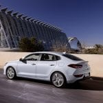 Prueba Hyundai i30 Fastback lateral trasera