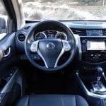 Prueba Nissan Navara NP300 interiores