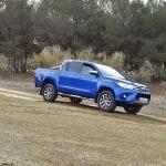 Prueba Toyota Hilux en circuito offroad