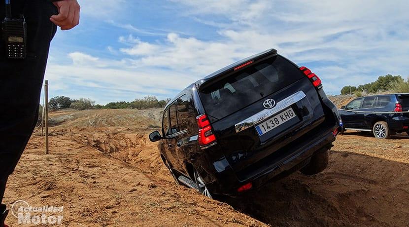 Prueba Toyota Land Cruiser