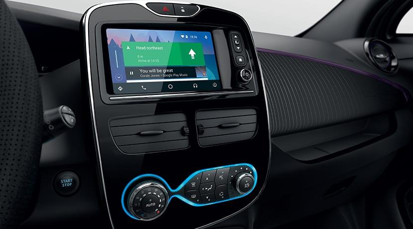 Interior del Renault Zoe 2018