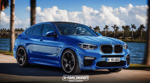Render del BMW X4 M por X-Tomi Design