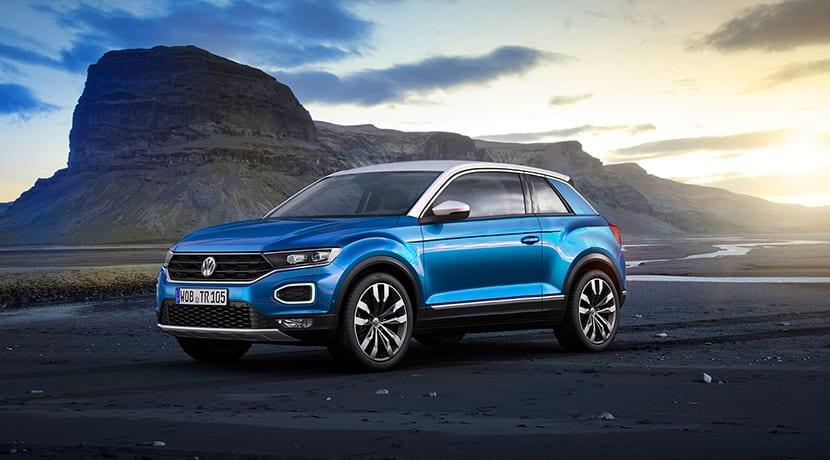 Render del Volkswagen T-Roc Coupe