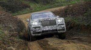 Teaser del Rolls-Royce Cullinam