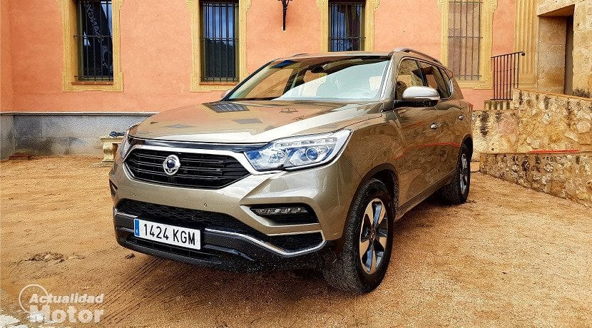 Frontal del Ssangyong Rexton 2018