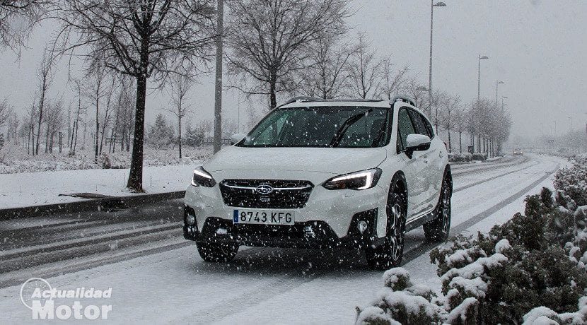 Frontal del Subaru XV 2018