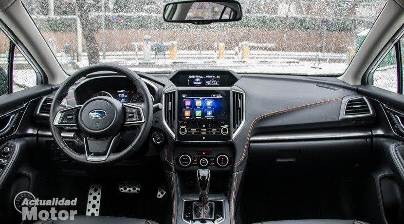 Interior del Subaru XV 2018
