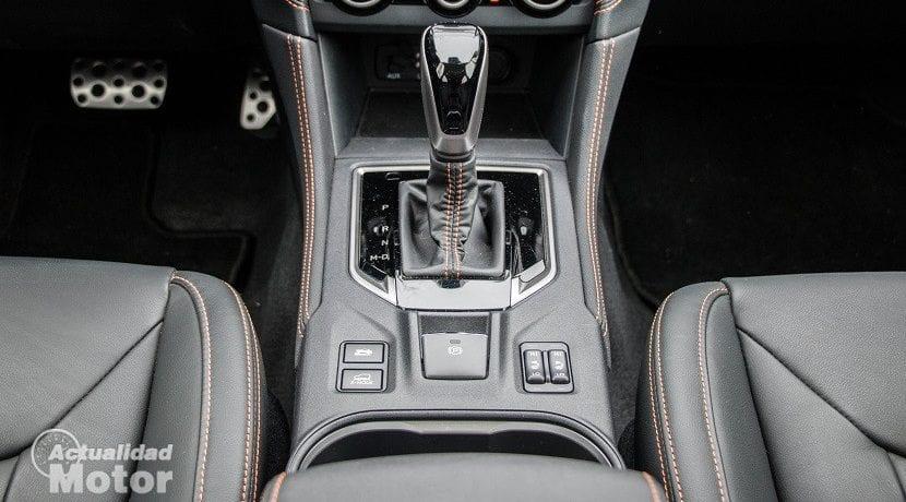 Cambio automático del Subaru XV 2018