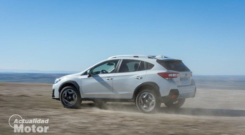 Trasera del Subaru XV 2018