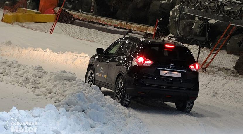 Neumáticos de invierno en nieve