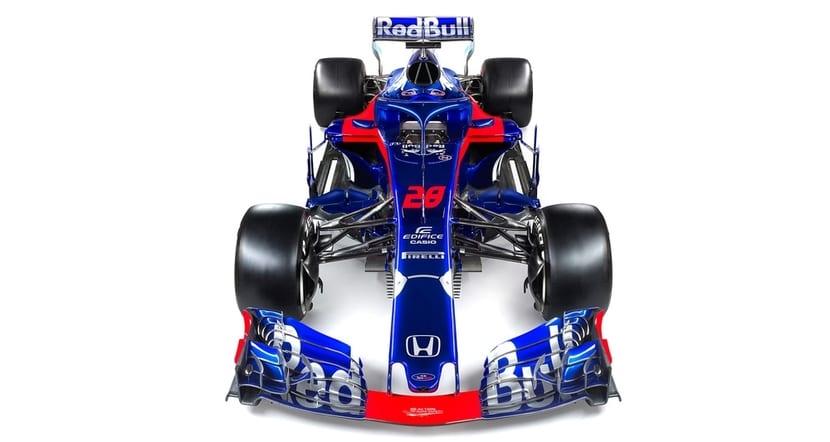 Frontal del STR13 de Toro Rosso