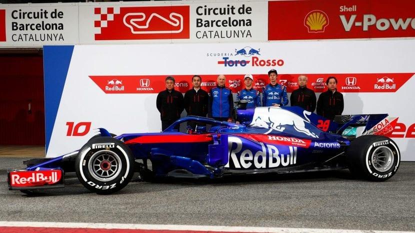 Toro Rosso presentación del STR13