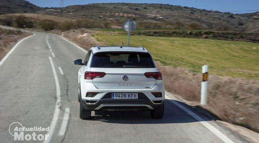 Trasera del Volkswagen T-Roc