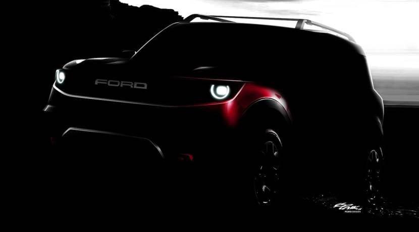 Ford SUV teaser