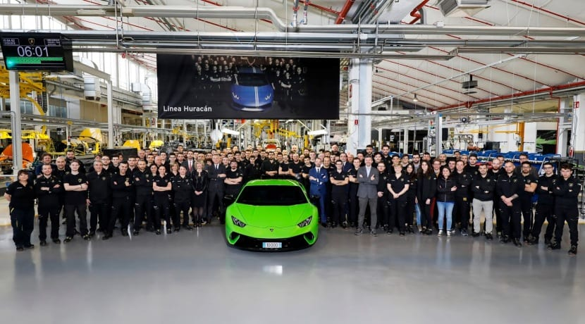 Lamborghini Huracan 10.000 unidades