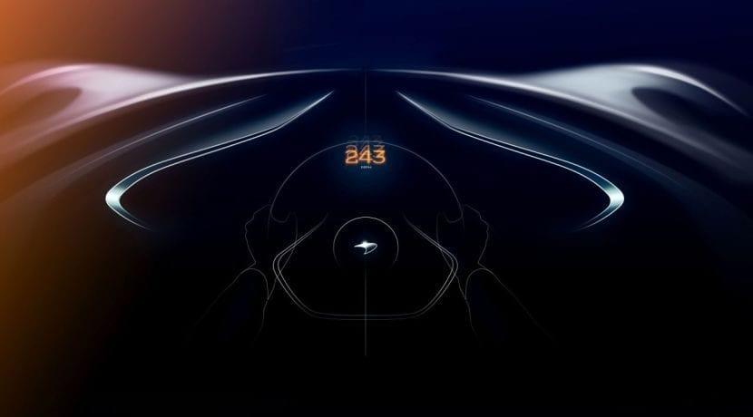 McLaren BP3 teaser