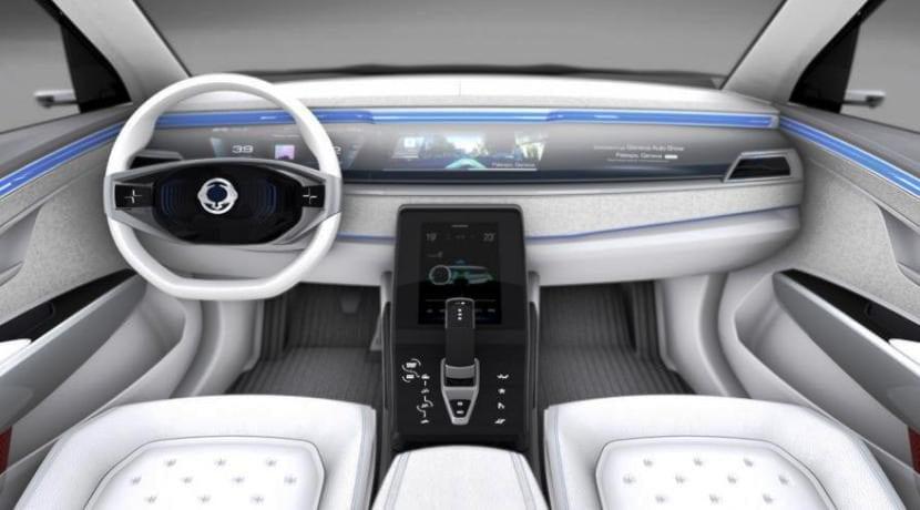 Ssangyong e-SIV Electric Concept