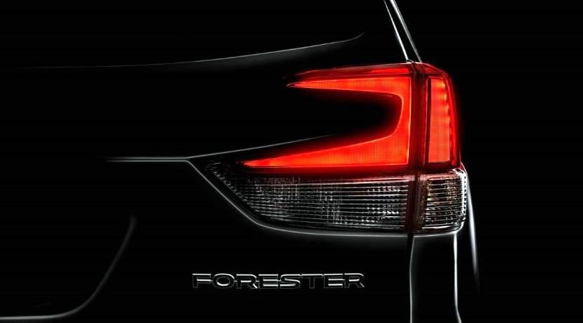 Subaru Forester 2019 teaser Nueva York
