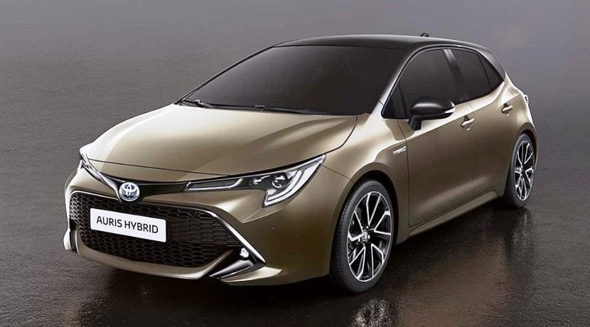 Toyota Auris Hybrid filtrado