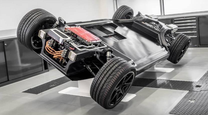 Williams plataforma eléctricos FW-EVX