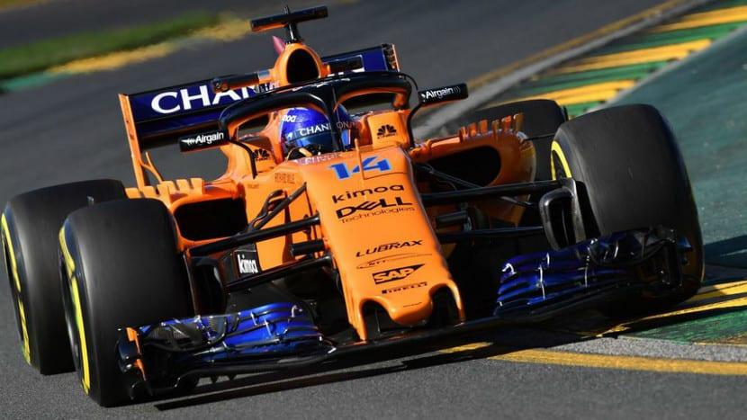 Alonso en Australia 2018 con el MCL33