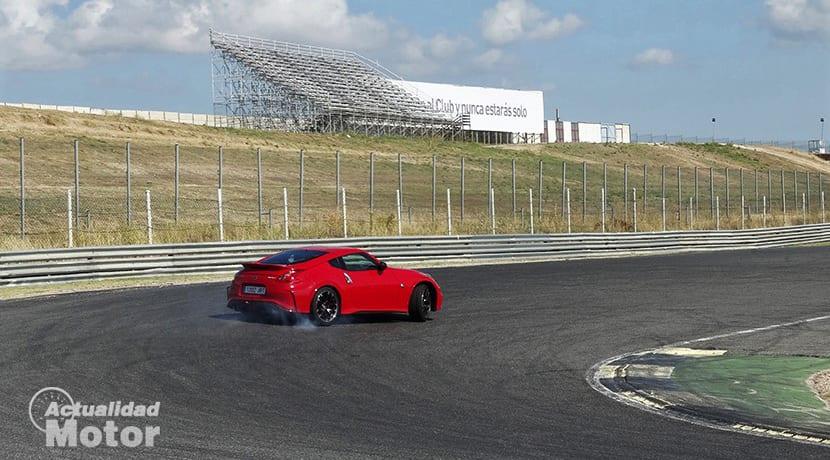 Derrape Nissan 370Z