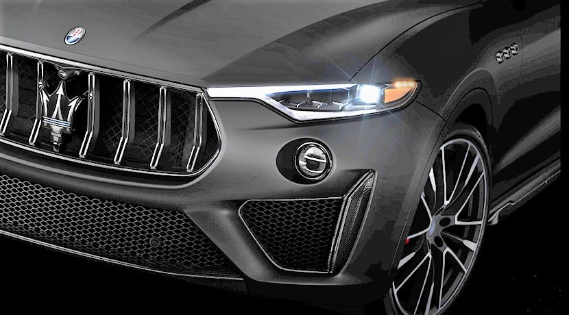 Teaser editado Maserati Levante GTS