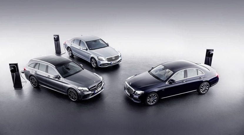 Versiones de los híbridos enchufables diésel de Mercedes Clase C y Clase E