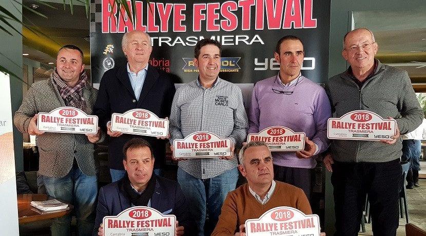 Responsables del Rallye Festival Trasmiera 2018