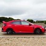 Prueba Honda Civic Type R exterior