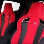 Prueba Honda Civic Type R asientos deportivos