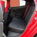 Prueba Honda Civic Type R plazas traseras