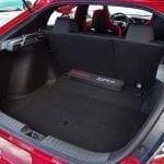 Prueba Honda Civic Type R maletero