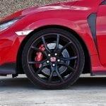 Prueba Honda Civic Type R llantas y frenos brembo