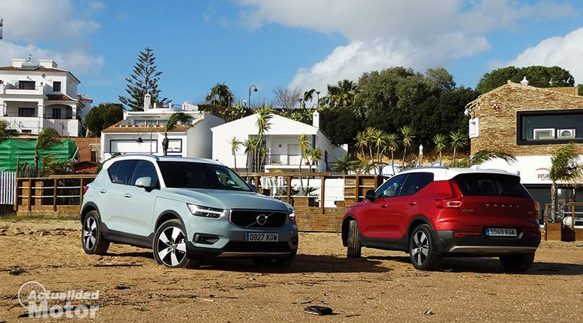Prueba Volvo XC40 exteriores