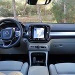 Prueba Volvo XC40 diseño interior